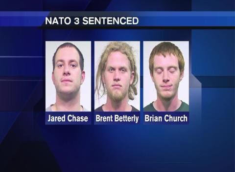 News video: NATO 3 Receive Prison Sentences